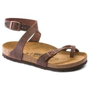 Birkenstock Yara Leather Sandals 35